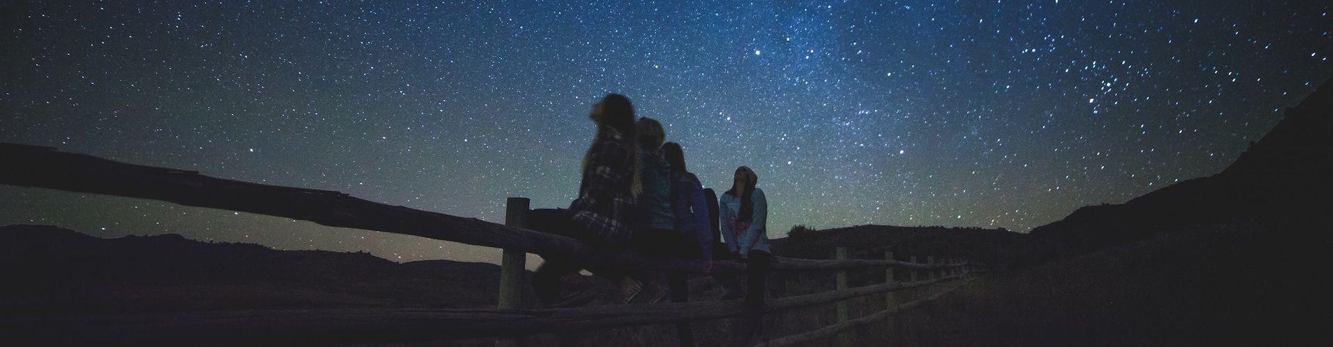 sterren kijken overnachting